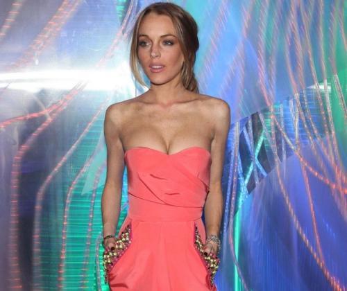 lindsay lohan skinny 2009. Blessed be, Lindsay Lohan is